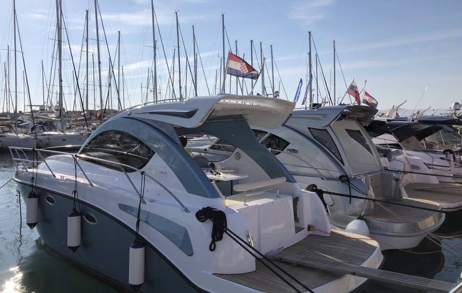 31 Coupe premiere review at Biograd Boat Show 2018 - Pearlsea Yachts, Croatia