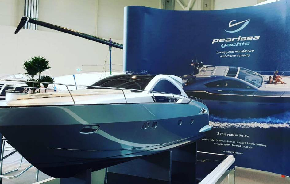 Presenting Pearlsea Yachts at Budapest Boat Show 2019 - Pearlsea Yachts, Croatia