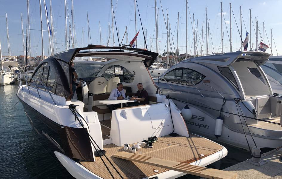 Pearlsea 40 exhibiting announcement, Zagreb Boat Show, Nautika 2020