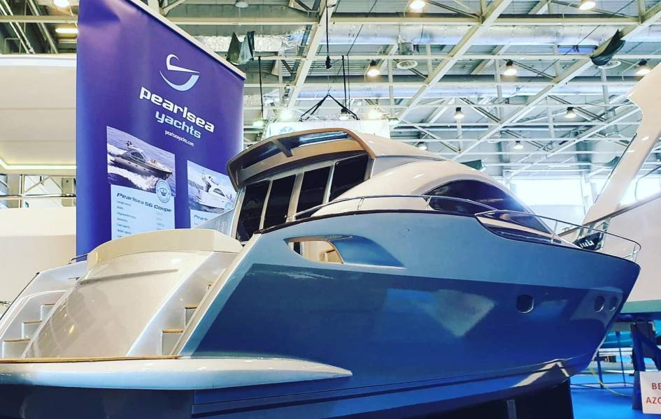 Presenting Pearlsea Yachts and charter fleet at Budapest Boat Show 2020